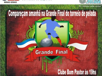 Leia a noticia completa sobre Grande Final